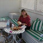 glorieta en la terraza