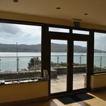 View from the salon to Bere Island - stunning!
