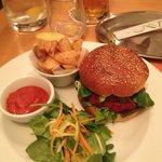 Veggie burger :)