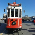 Tram in Istikcal caddesi - Walking distance from hotel