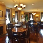 Elegant and historic dining room