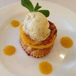 Carmelized Mango Tart