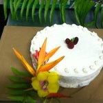 Vanilla Cream Wedding Cake