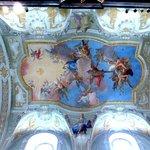 Ceiling frescos by Daniel Gran
