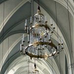 Chandeliers at St. Augustine's Church