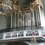 Lovely organ at St. Augustine's Church
