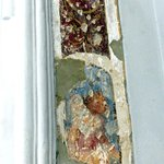 Old wall fresco at St. Augustine's Church