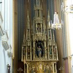 Lovely gothic style alter piece at St. Augustine's Church