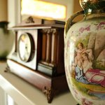 Antiques are throughout the Victorian