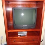 Old tv in refurbished unit