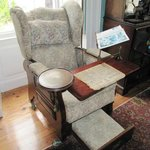 The first recliner! Not really - it's a