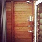 Outdoor Cedar Shower