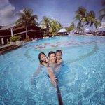 We had fun, my kids love the pool