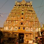 Tiruvanaikka temple tower-Muralitharan photo