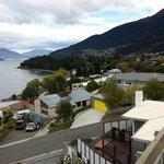 View of Lake Wakatipu from the back balcony