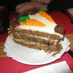 the SLAB of Awesomeness - that was this carrot cake