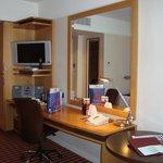 Room - desk area