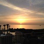 Sunset at Venus Beach Hotel
