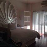 Un-renovated room. Decent quality