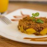 Mango Speculoos Crumble
