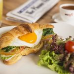 Croissant&Coffee breakfast set
