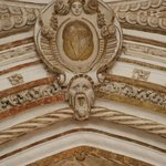 Detail on cathedral portion