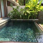 Piscine privative en Pool residence