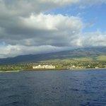 Sailing off Ka'anapali Beach