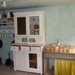 Frühere Küche