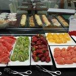 brakfast -fruits variety