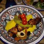 Meat couscous