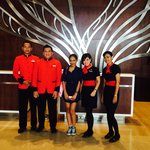 Friendly concierge and front office staffs.