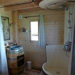 La salle de bain et sa belle douille