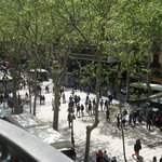 vista de la Rambla Catalunia