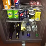 The free mini bar
