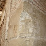 A secret peek at a current renovation of a 17th Century home has uncovered a message for inquisi