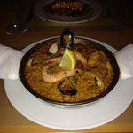 Individual Seafood Paella