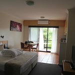 Bedroom/kitchenette