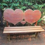 Heart shaped chair