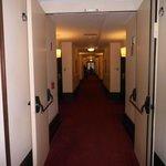 Corridor of the hotel.