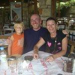 Taverne avec le fils du  patron