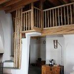 Steps to loft area