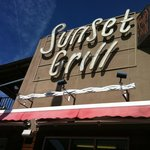 Nice day to visit the Sunset Grill