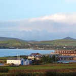 View of Dingle from the b&b garden