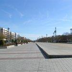 Avenida de la Libertad di fronte all'Hotel