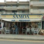 Bar Restaurant Samoa. Open all year.