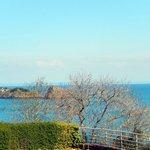 Vue sur l'îlot le Châtellier et le Rocher de Cancale