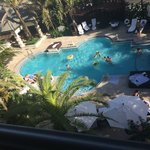 Room view of pool