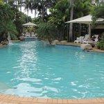 pool in the resort