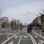 segaways travel in the bike lane